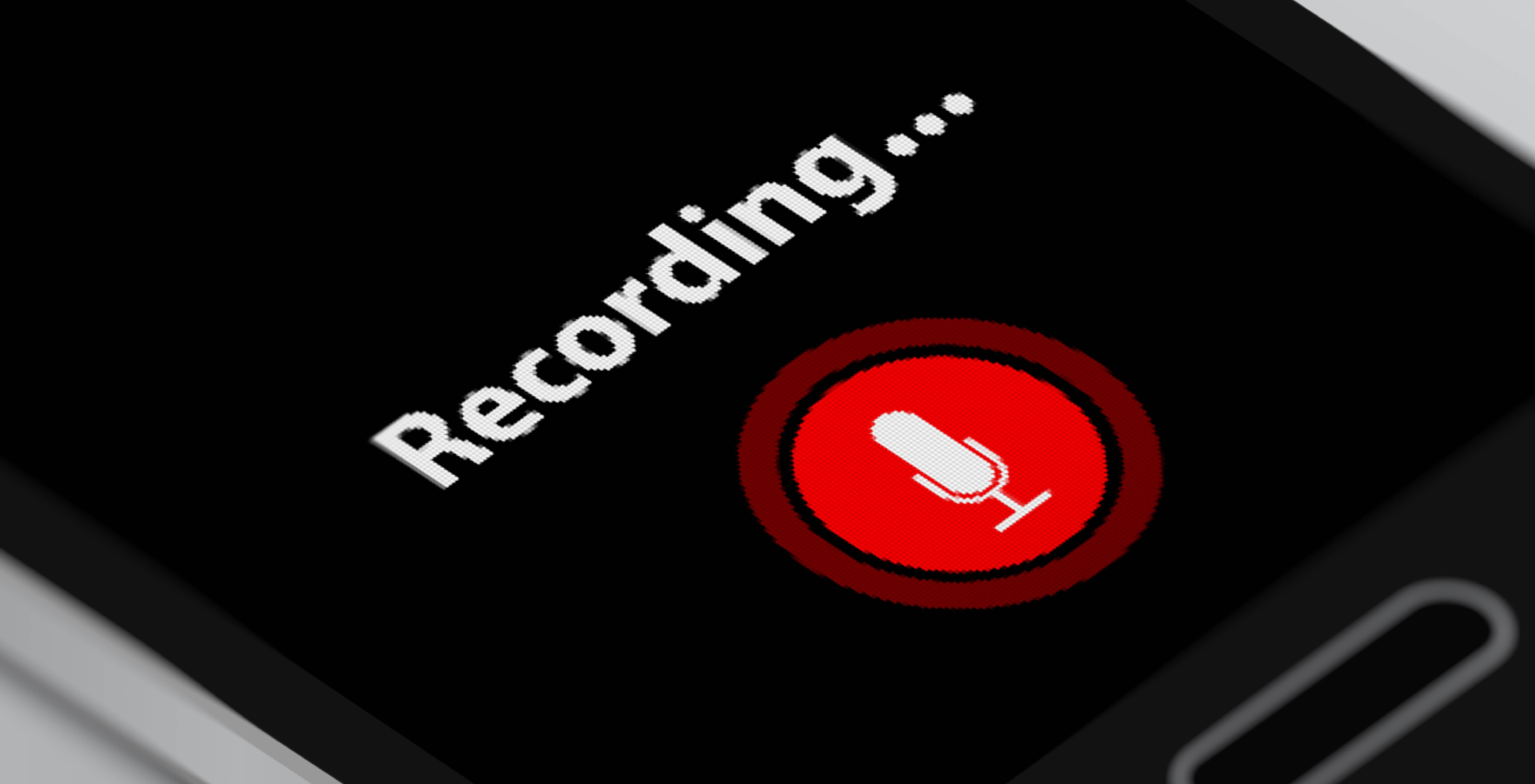 recording new